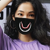 lovely Print BlackFace Mask