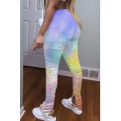 lovely Sportswear Tie-dye Multicolor Pants