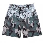 lovely Bohemian Camo Print Shorts