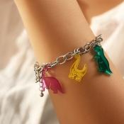 lovely Trendy Cartoon Silver Bracelet