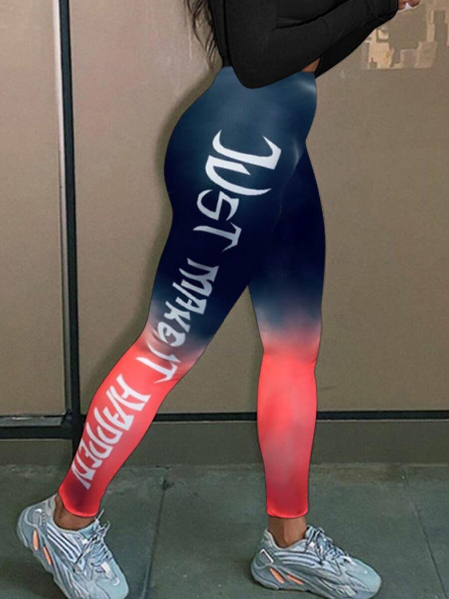 LW Lovely Sportswear Gradient Print Pants