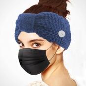 lovely Trendy Basic Blue Headband