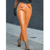 lovely Street Basic Brown Pants