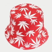 lovely Casual Camo Print Red Hat