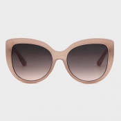 lovely Trendy Patchwork Pink Sunglasses