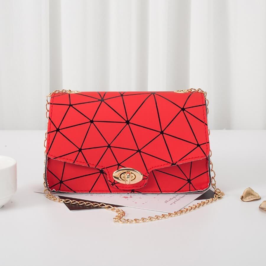 LW BASIC Geometric  Crossbody Bags
