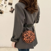Lovely Casual Leopard Print Crossbody Bag