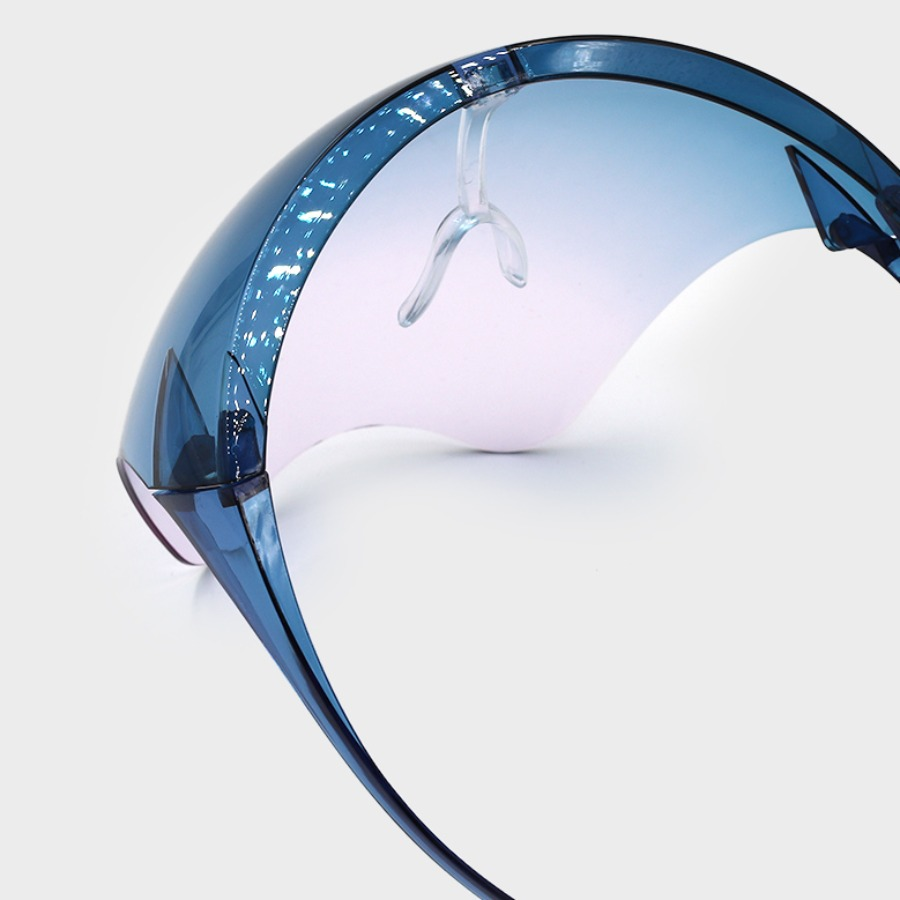 Lovely Chic Gradient Skyblue Sunglasses