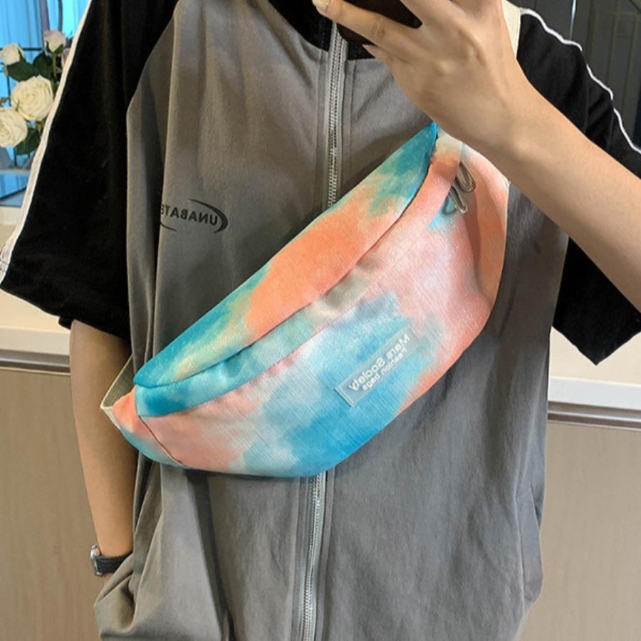 LW Casual Buckle Design Gradient Bum Bags