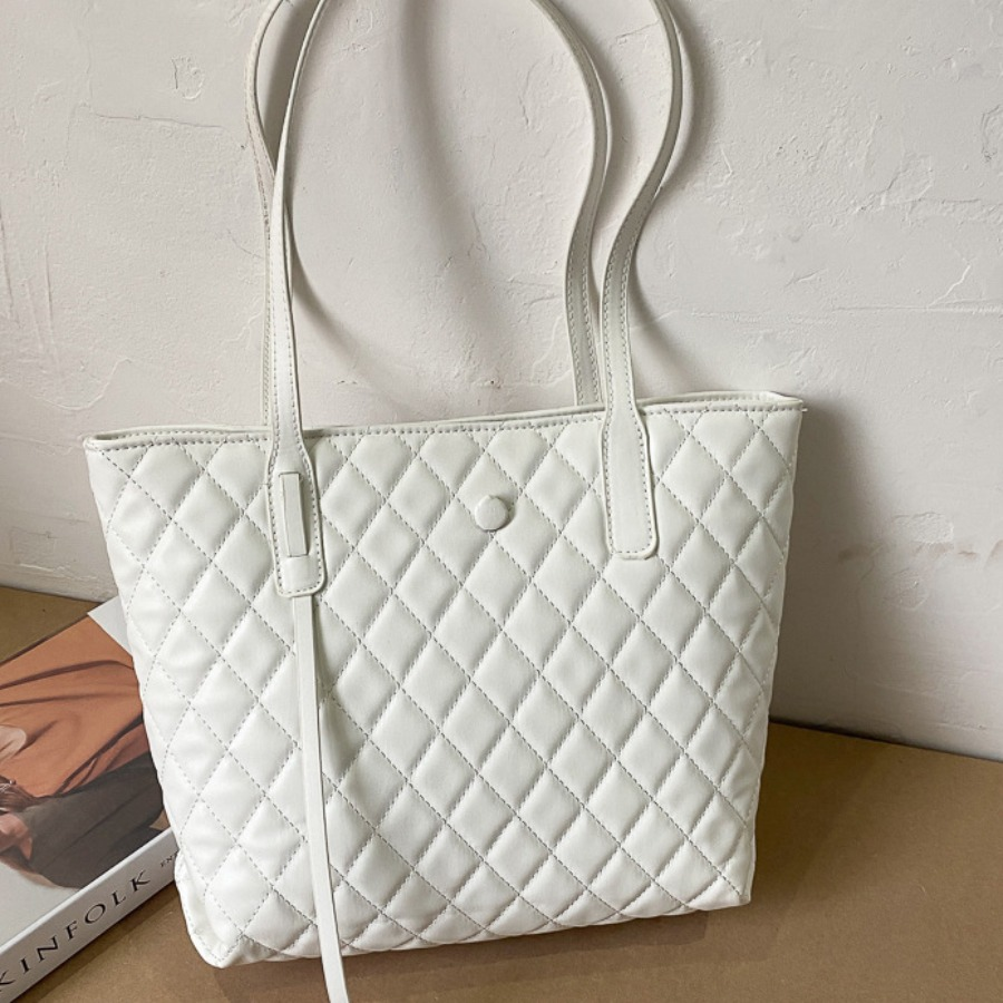 Lovely Casual Geometric Pattern White Shoulder Bag