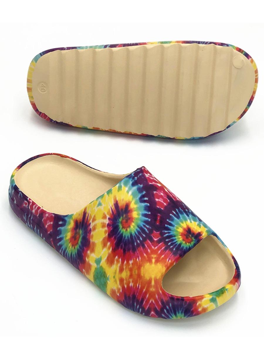 LW Tie-dye Slippers