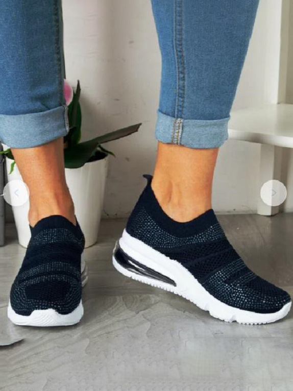 LW Patchwork Breathable Chunky Sneakers