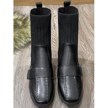 LW Rib-Knit Booties
