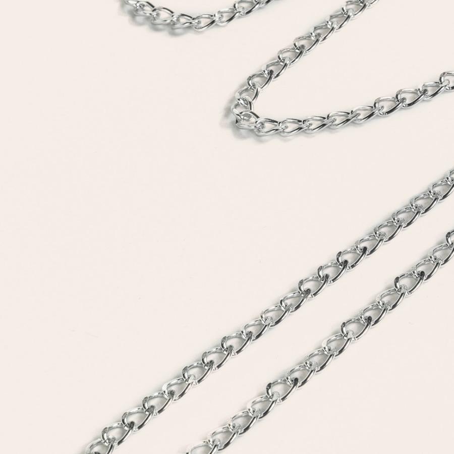 LW Rhinestone Metal Accessories Decor Belt