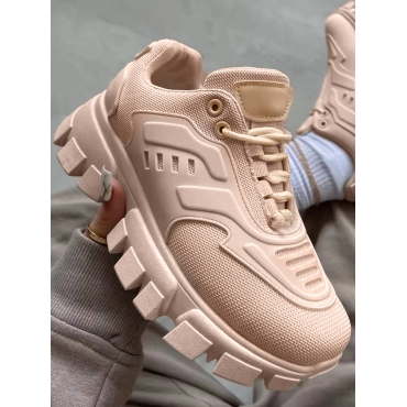 LW Sporty Mesh Patchwork Breathable Sneakers